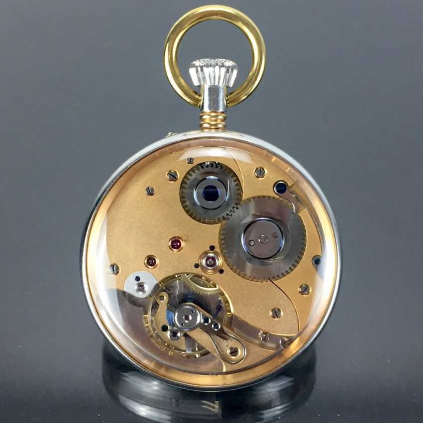 Mr pocket watch in a glass case - photo 3
