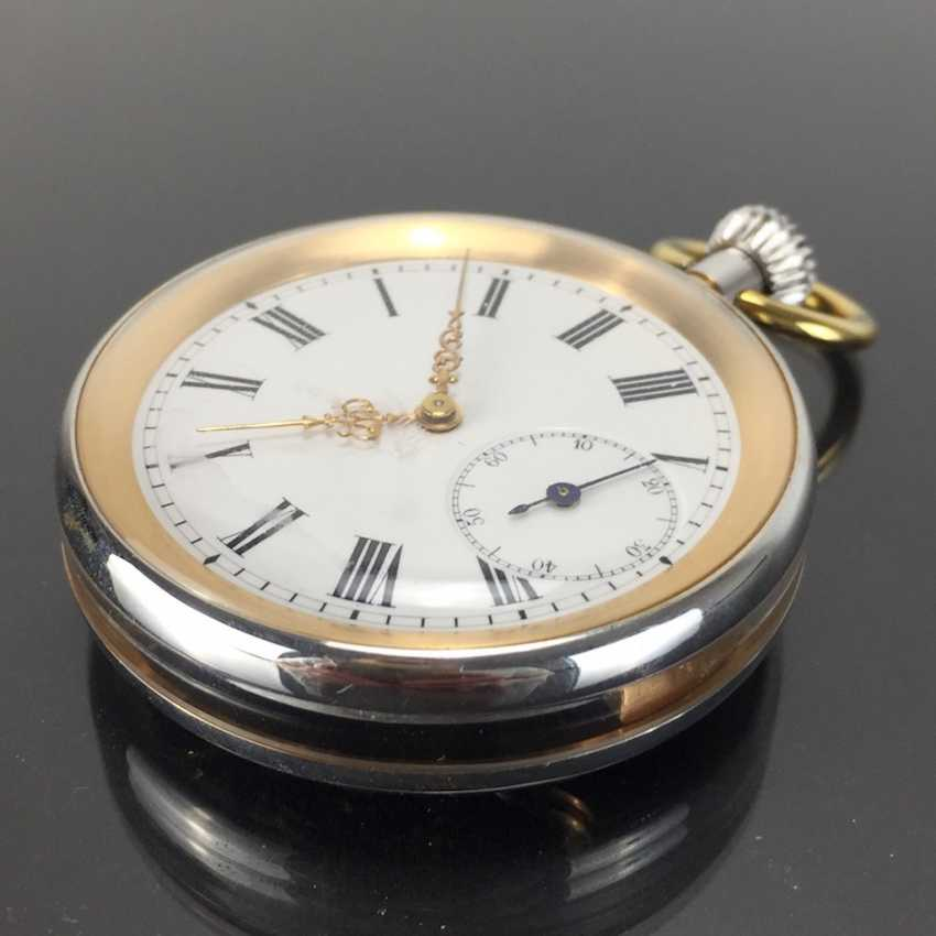 Mr pocket watch in a glass case - photo 6