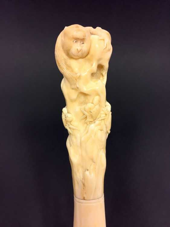 Letter opener: ivory Hand-carved. - photo 1