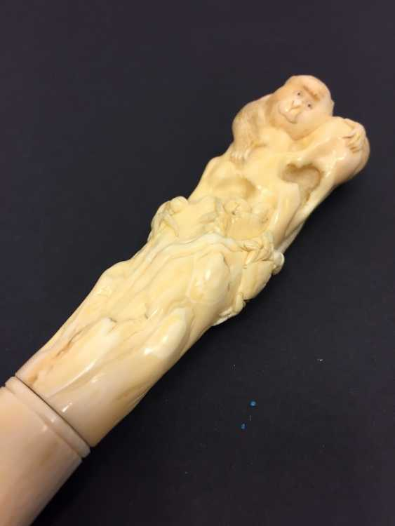 Letter opener: ivory Hand-carved. - photo 9
