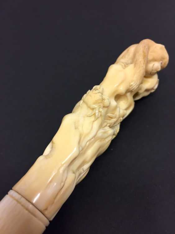 Letter opener: ivory Hand-carved. - photo 10