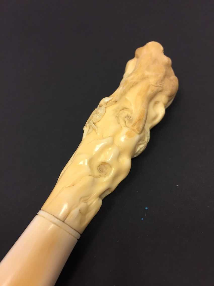 Letter opener: ivory Hand-carved. - photo 11
