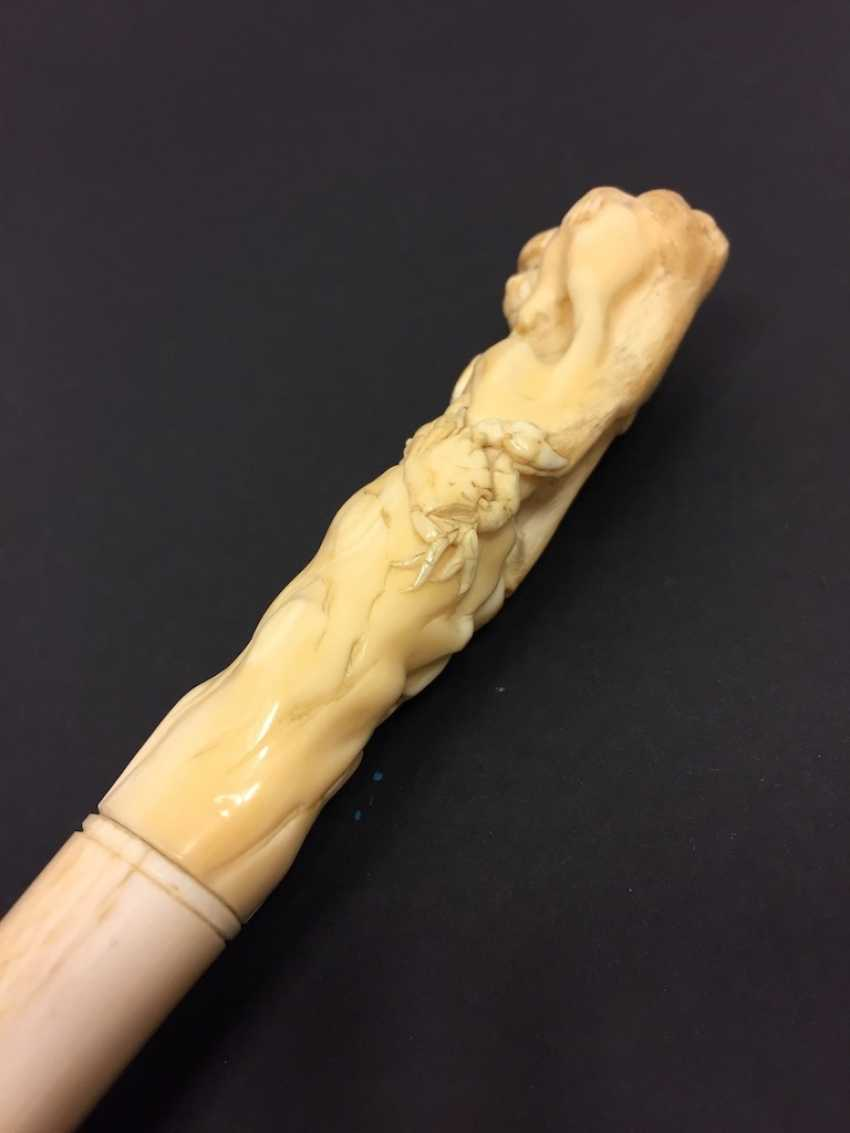 Letter opener: ivory Hand-carved. - photo 12