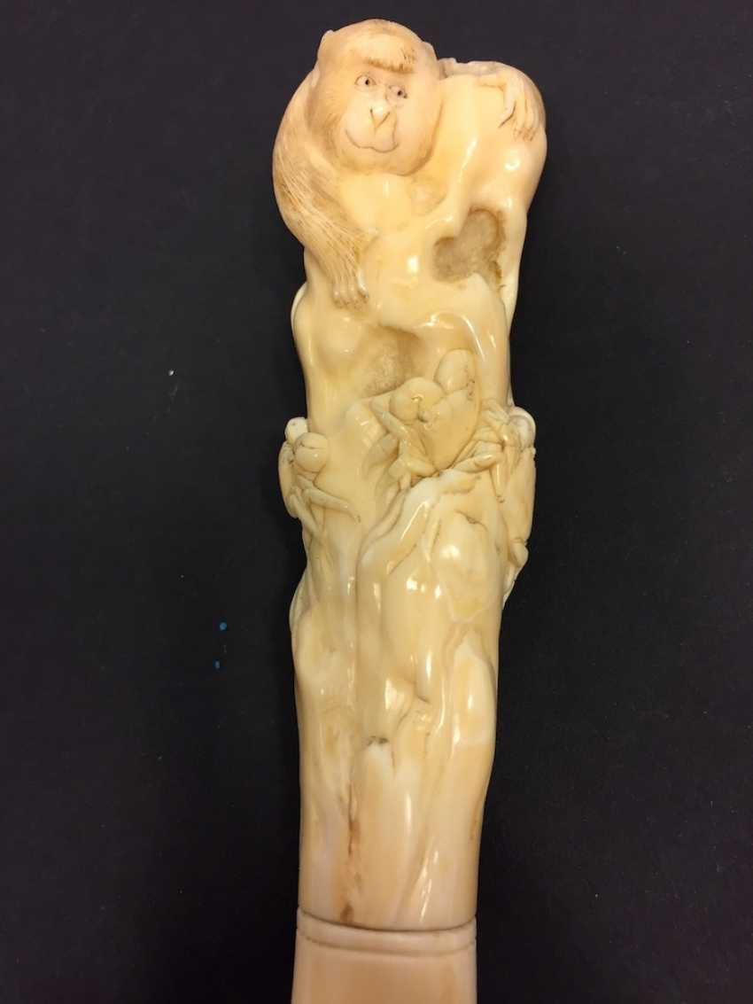Letter opener: ivory Hand-carved. - photo 13