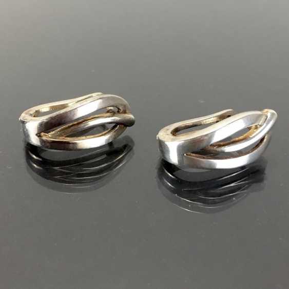 Creoleon / Dangle Earrings: Silver 925. - photo 1