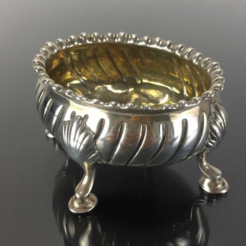 Baroque Salt Bowl / Salière: France, 18. Century, Silver. - photo 2
