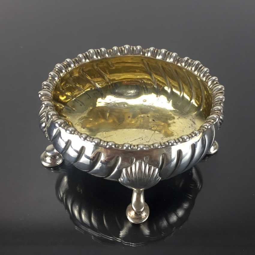 Baroque Salt Bowl / Salière: France, 18. Century, Silver. - photo 4