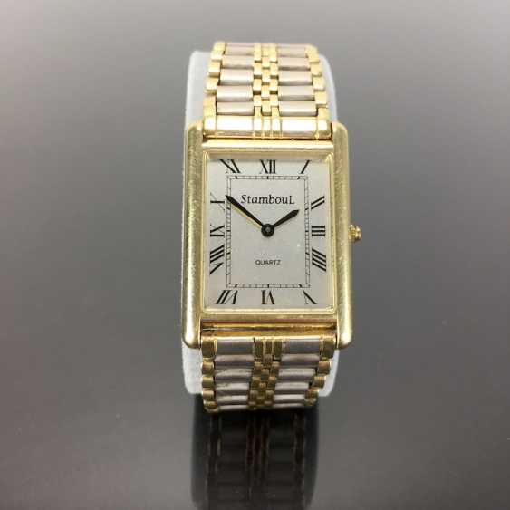 Heavy Mens Wrist Watch: Gold 585 / 14 K. - photo 1