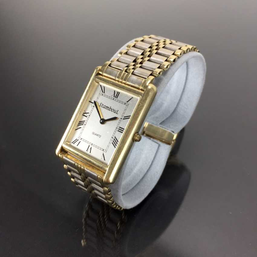 Heavy Mens Wrist Watch: Gold 585 / 14 K. - photo 3