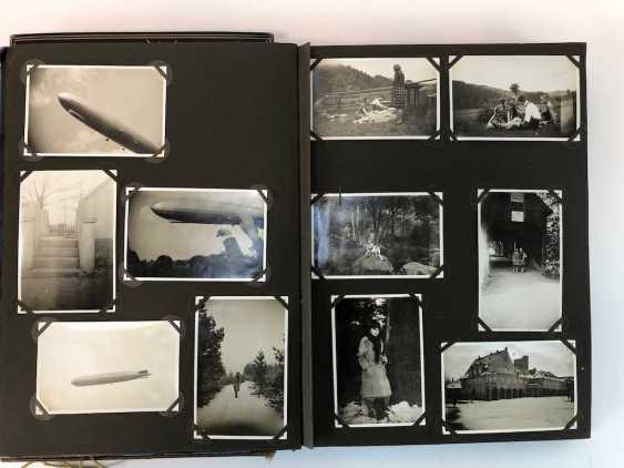 Cinq Fotoalbumen 1930-Années: 250 Photos de Gera, Werdau, Kronach, Tiefenort, Leipzig, Zeppelinflug, Jessen, Meissen. - photo 6