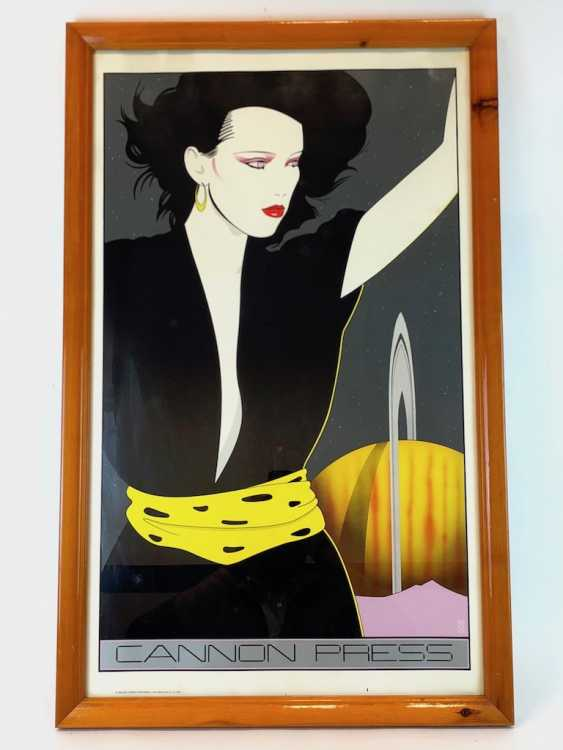 Patrick Nagel (1945-1984): Seltene Lithografie Cannon Press. San Francisco, California, 1981. - photo 1