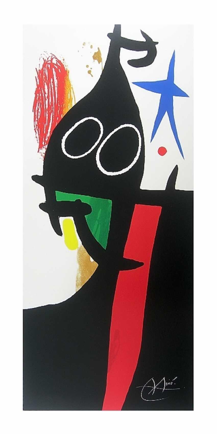 "Joan Miro: ""The Buckwheat has the blue star"", 1973. Offset, 1993. - photo 1"