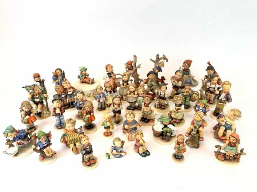 Very great Post Hummel figurines: 41 part of great children's characters, mid 20's. Century, GOEBEL. - photo 2