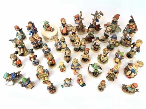 Very great Post Hummel figurines: 41 part of great children's characters, mid 20's. Century, GOEBEL. - photo 3