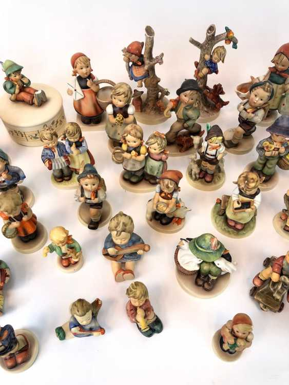 Very great Post Hummel figurines: 41 part of great children's characters, mid 20's. Century, GOEBEL. - photo 5