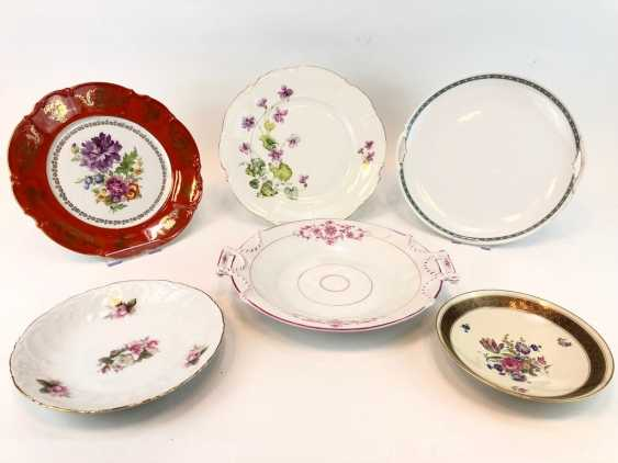 Great Post Anbietteller, plates, bowls: KPM Berlin, Hutschenreuther, Seltmann, Rosenthal. Very good. - photo 2