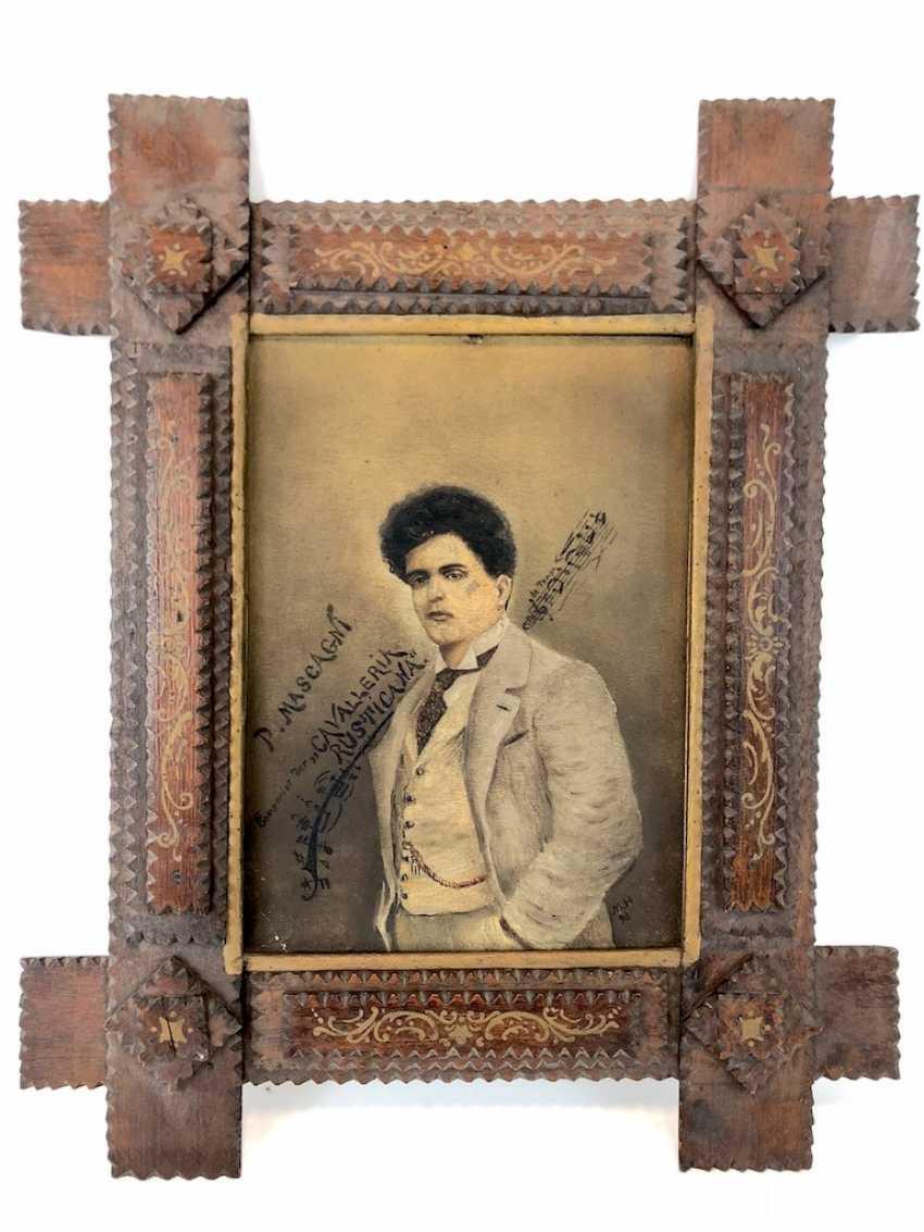 "M. Hagemann: ""P. Mascagni - Componist der Cavalleria Rusticana"". 1898. - photo 2"