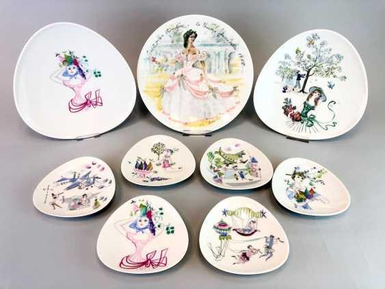 Nine Fairy Tales Plate: Rosenthal Studio Line. - photo 1