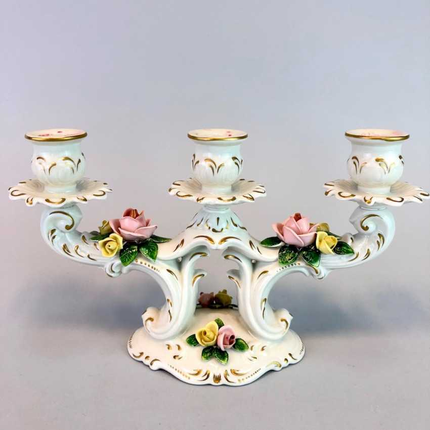 Filigree Chandeliers: Porcelain. The Baroque Style. - photo 1