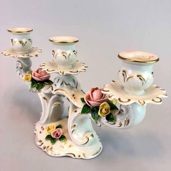 Filigree Chandeliers: Porcelain. The Baroque Style. - photo 3