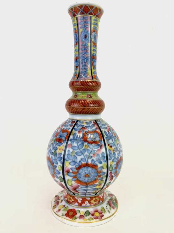 Baluster vase with Oriental-decor: Meissen porcelain, about 1750, very good. - photo 4