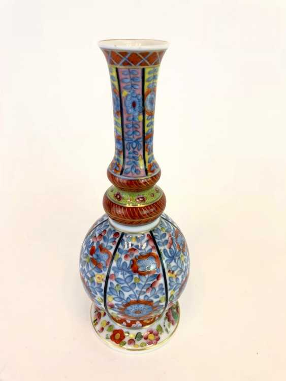 Baluster vase with Oriental-decor: Meissen porcelain, about 1750, very good. - photo 5