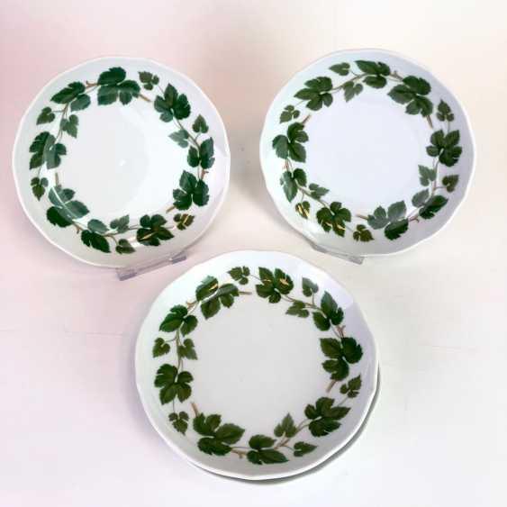 Rare Porcelain-Frame: Mirror Frame / Picture Frame, Porcelain, Decorative Vine Leaves. Hutschenreutehr. Very good. - photo 3