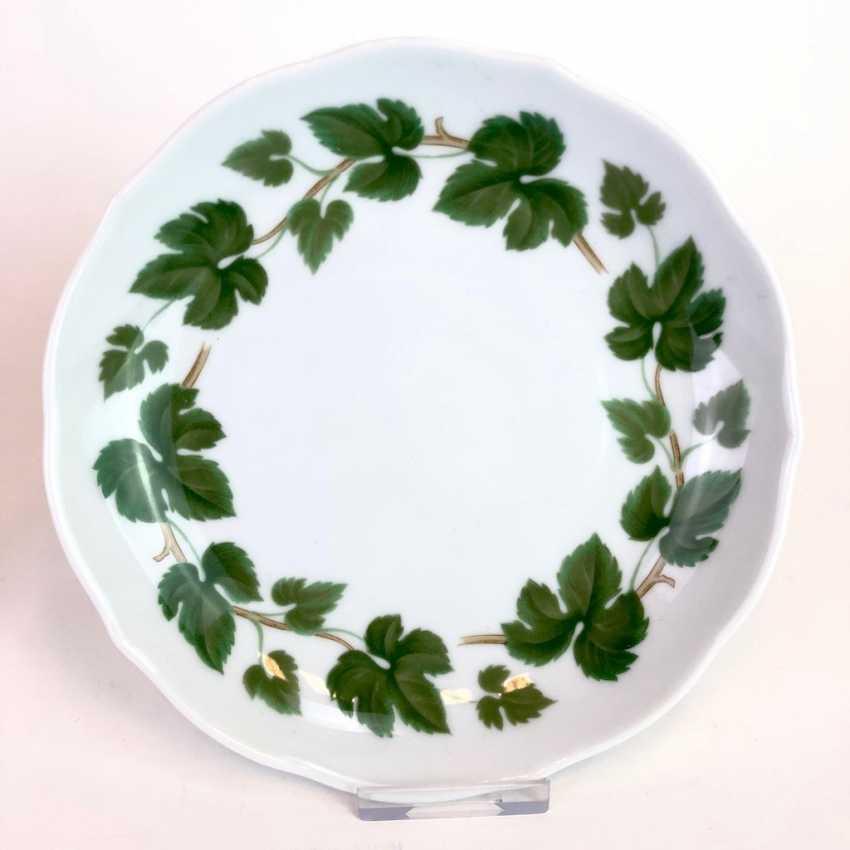 Rare Porcelain-Frame: Mirror Frame / Picture Frame, Porcelain, Decorative Vine Leaves. Hutschenreutehr. Very good. - photo 4