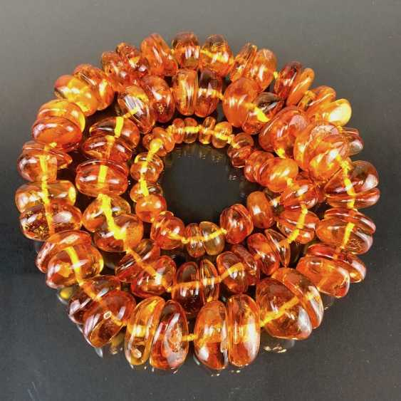 Extraordinary amber necklace: Baltic amber in the best quality. - photo 5