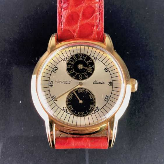 "Mr watch: ""REGENT Para"". Strong leather bracelet,. Unworn, from a watchmaker's estate. Perfectly. - photo 1"