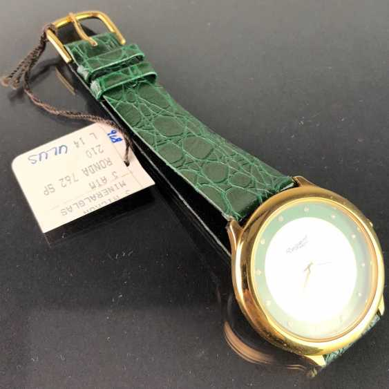 "Mr watch: ""REGENT Sepo"". Strong leather bracelet,. Unworn, from a watchmaker's estate. Perfectly. - photo 2"