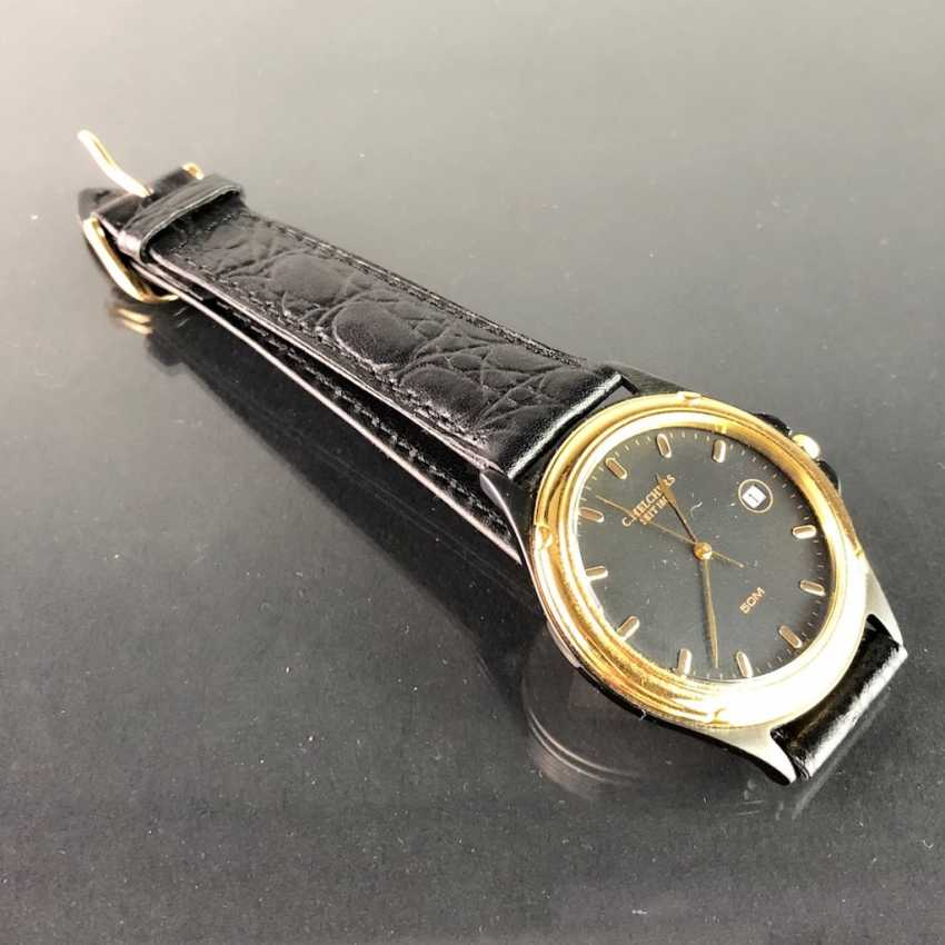 """Watch: """"C. Melchers, 1806"""". Leather Bracelet, Mineral Glass. Unworn, from a watchmaker's estate. Perfectly. - photo 2"""