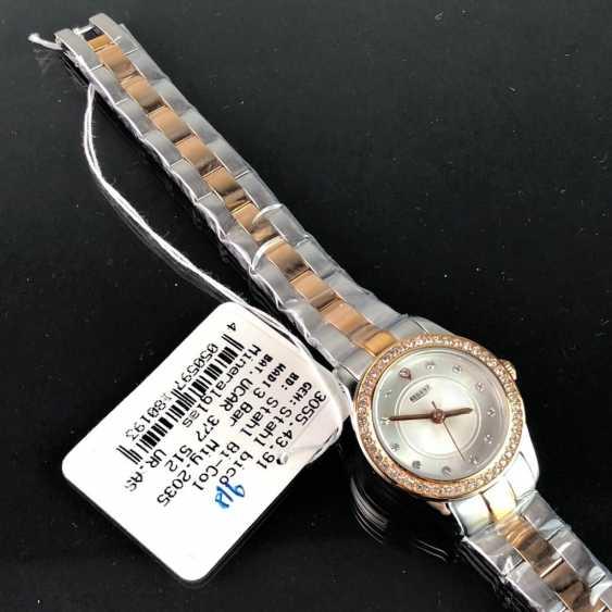 """Наручные часы: """"РЕГЕНТ"""". Нержавеющая сталь биколор. Минеральное стекло. Непоношенный из часовщиков наследстве. Совершенно. - фото 2"""