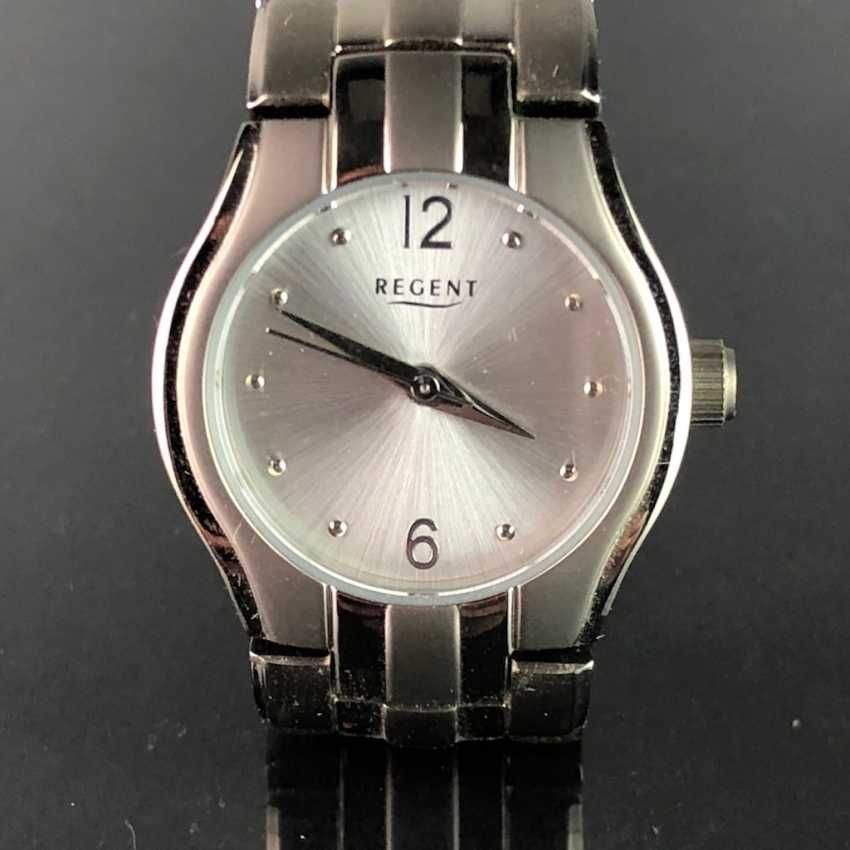 """Watch: """"REGENT"""". Titanium, Mineral Glass. Unworn, from a watchmaker's estate. Perfectly. - photo 1"""
