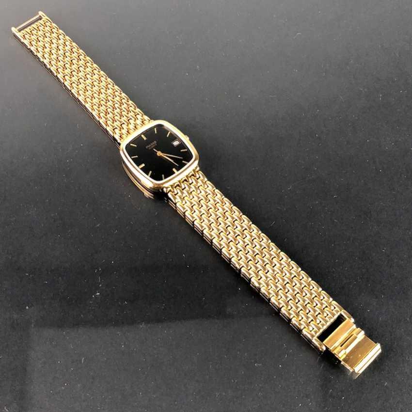 "Armbanduhr: ""PULSAR"". Stark vergoldet. Mineralglas. Ungetragen aus Uhrmachernachlaß. Tadellos. - Foto 3"