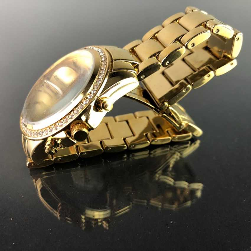 """Watch: """"Eichmüller"""". Gold plated. Mineral glass. Unworn, from a watchmaker's estate. Perfectly. - photo 2"""