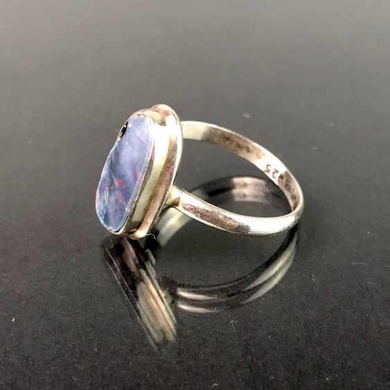 Ring: Opal in Silber. - photo 1