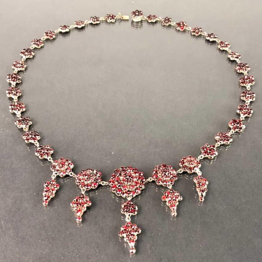 Opulent Necklace: Bohemian Garnets. Art Nouveau 1920. - photo 1