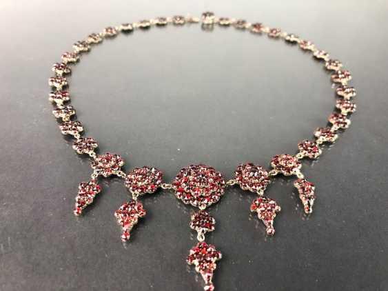 Opulent Necklace: Bohemian Garnets. Art Nouveau 1920. - photo 3