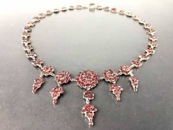 Opulent Necklace: Bohemian Garnets. Art Nouveau 1920. - photo 4