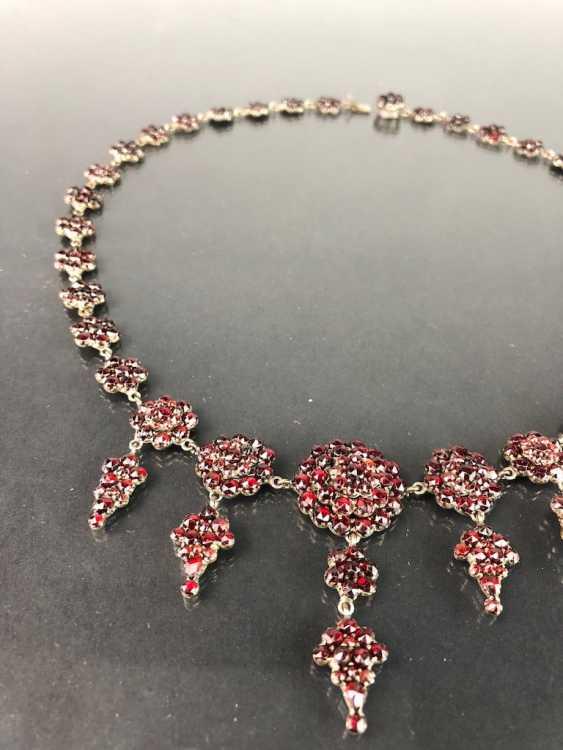 Opulent Necklace: Bohemian Garnets. Art Nouveau 1920. - photo 6