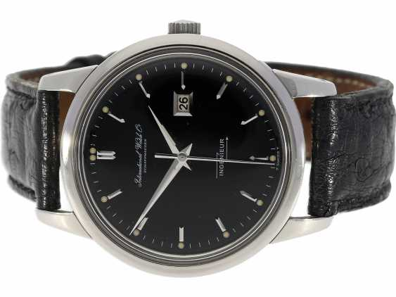 Watch: excellently-preserved IWC Ingenieur with black dial, Schaffhausen, 1963 - photo 1
