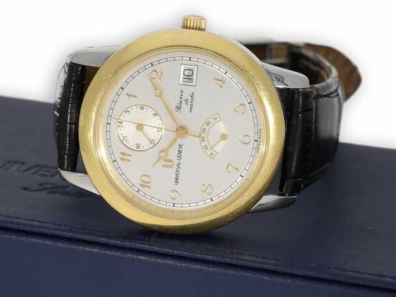 Armbanduhr: seltene, große vintage Herrenuhr Universal