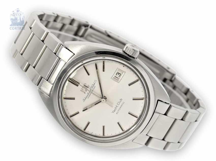 "Wrist watch: high quality automatic mens watch IWC ""yacht club"", Schaffhausen, 1972 - photo 1"