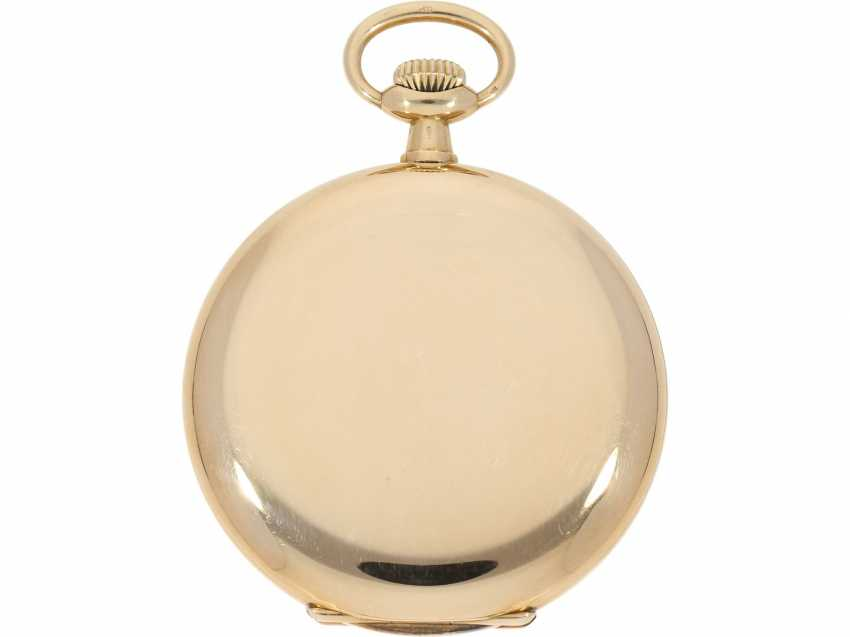 Pocket watch: very beautiful 14K Savonnette of the brand Patek Philippe, No. 162685, CA. 1900 - photo 3