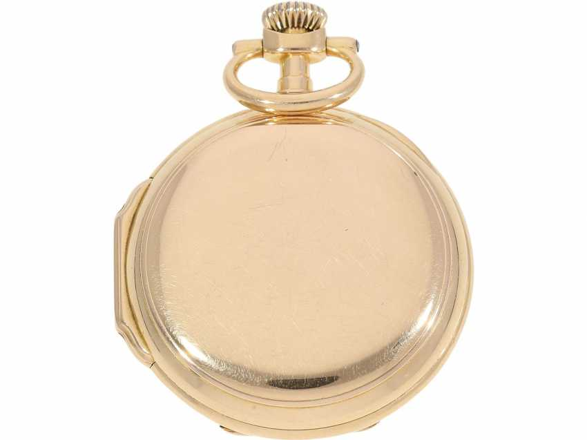 """Pocket watch: very rare Patek Philippe ladies savonnette """"Louis XV"""", No. 69928 delivered to Pleister in London, CA. 1885 - photo 3"""