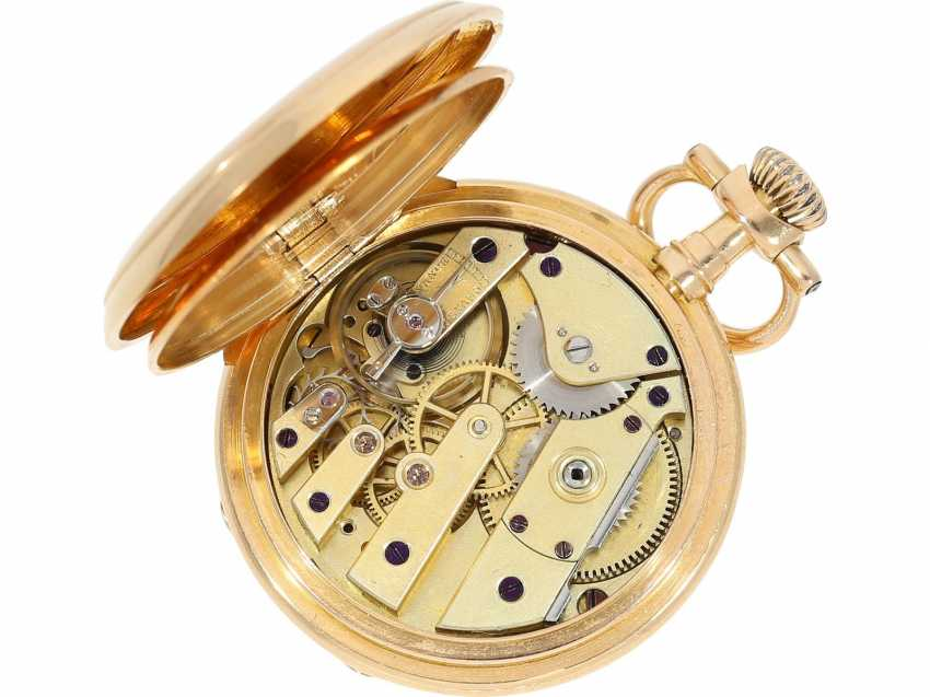 """Pocket watch: very rare Patek Philippe ladies savonnette """"Louis XV"""", No. 69928 delivered to Pleister in London, CA. 1885 - photo 5"""