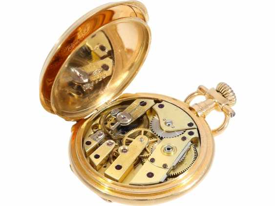 """Pocket watch: very rare Patek Philippe ladies savonnette """"Louis XV"""", No. 69928 delivered to Pleister in London, CA. 1885 - photo 6"""