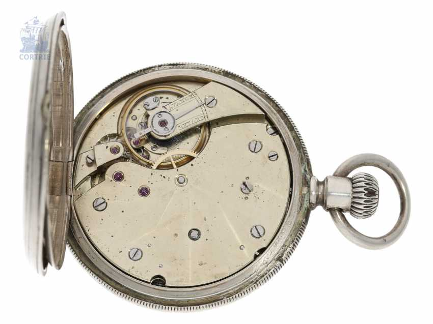 Pocket watch: unusual, very early Patek Philippe Anker chronometer with rare 2/3-Board, Geneva, 1877, with the master excerpt from the book - photo 4