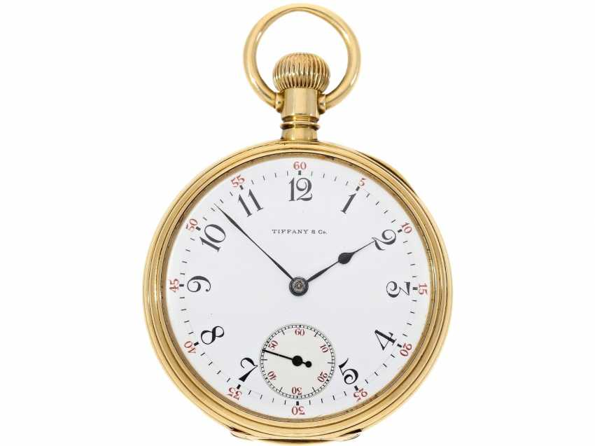 Pocket watch: very fine Patek Philippe pocket watch No. 130354, sold to Tiffany in 1905, with original box - photo 3